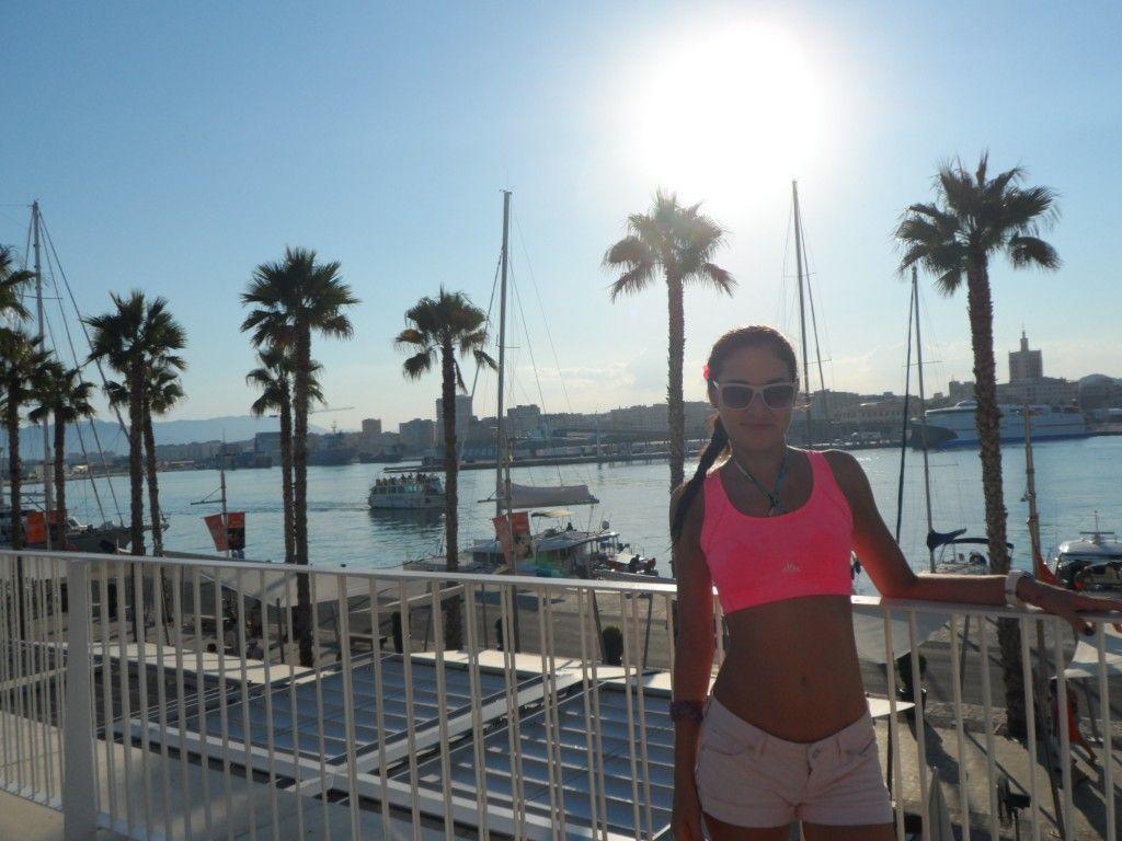 Малага пляжи порт