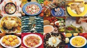 блюда Андалусия