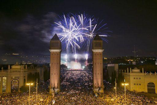новый год испания