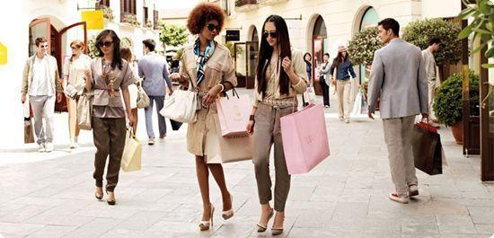 барселона шоппинг