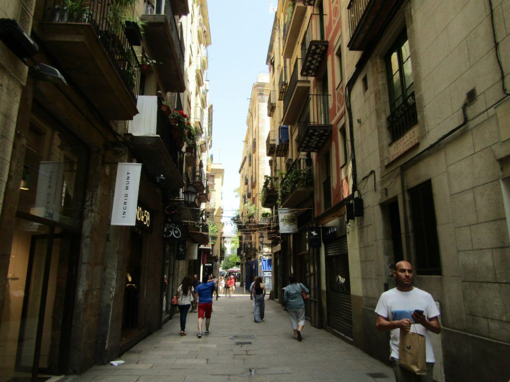 Барселона маршрут шоппинга
