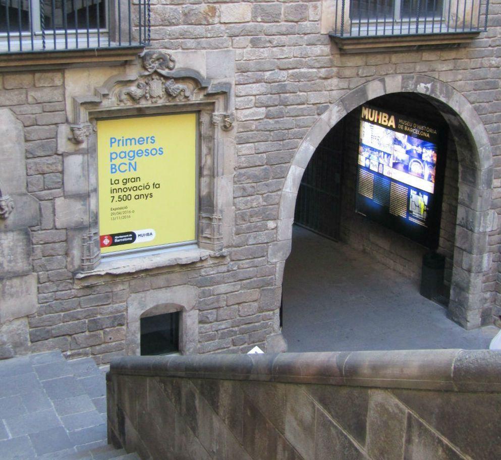 первые поселения Барселона