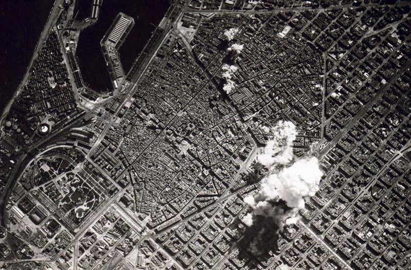 grazhdanskaya voina barcelona bombardirovki