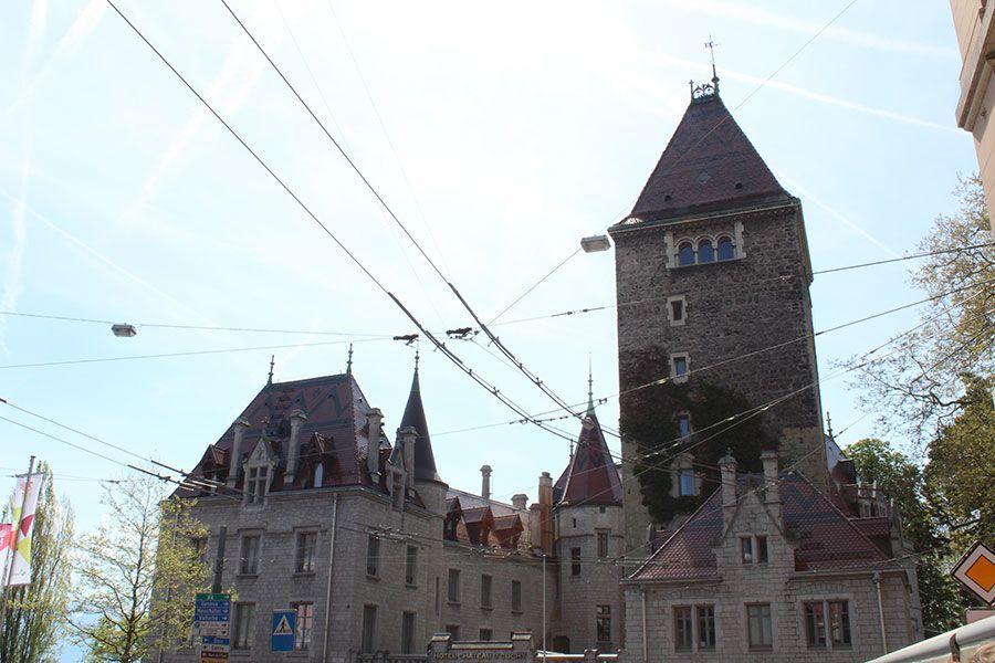 лозанна-замок