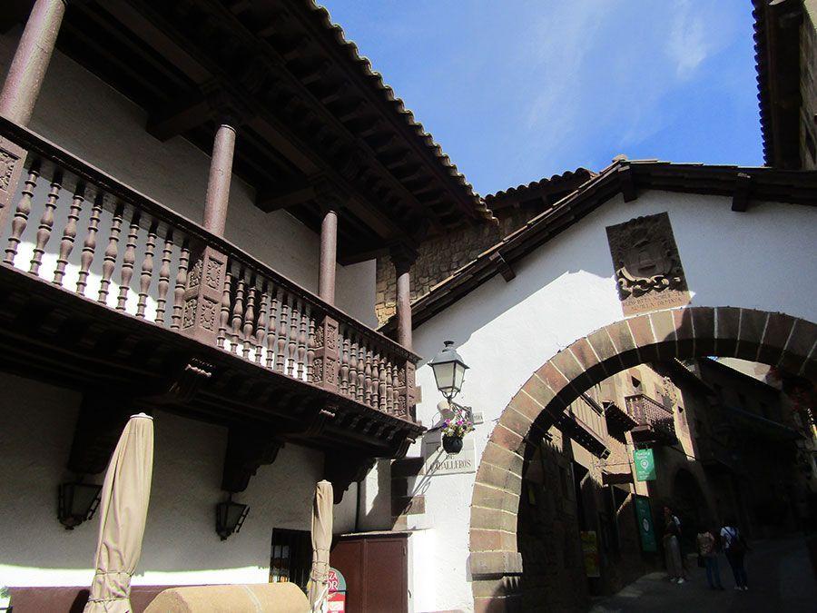 poble espanyol Barcelona Catalonia