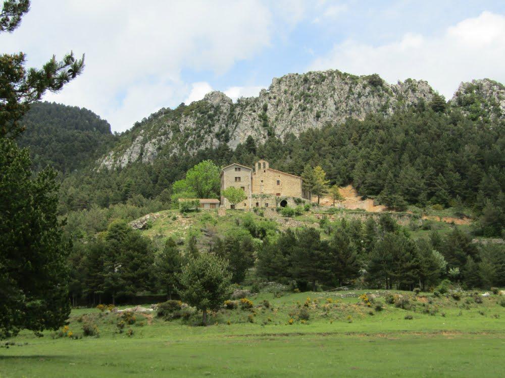 Santuario de Queralt треккинг