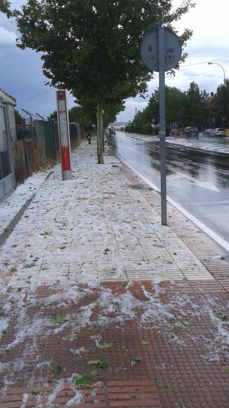 снег июль Мадрид