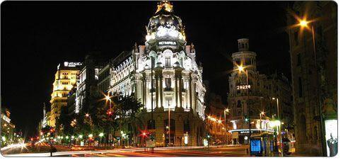 ночная жизнь Мадрид