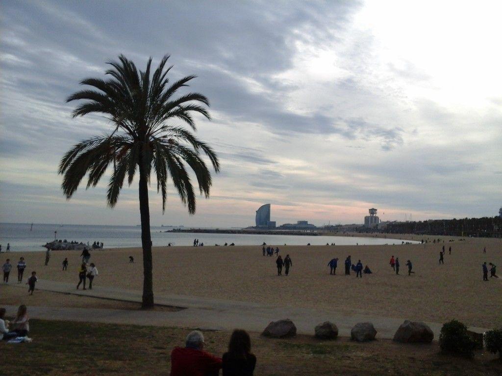 зимняя испания