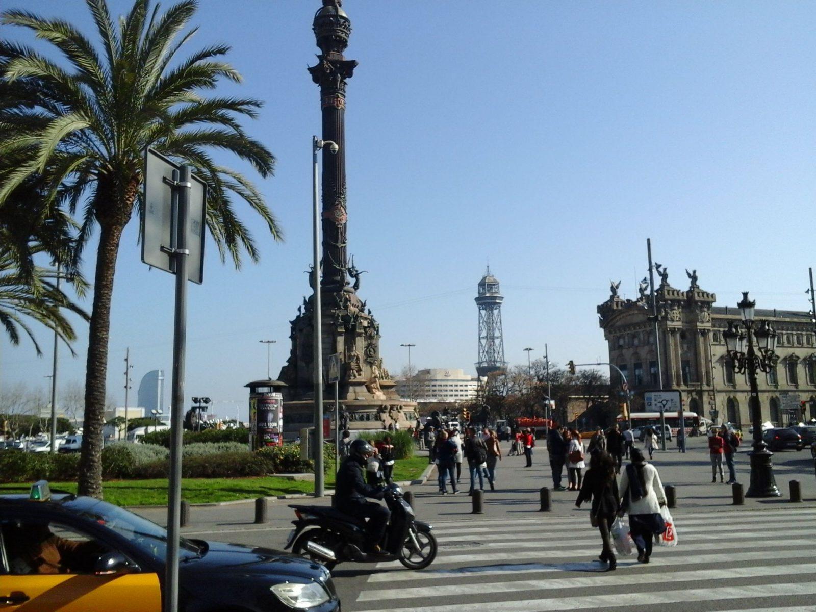Гуляя по Барселоне
