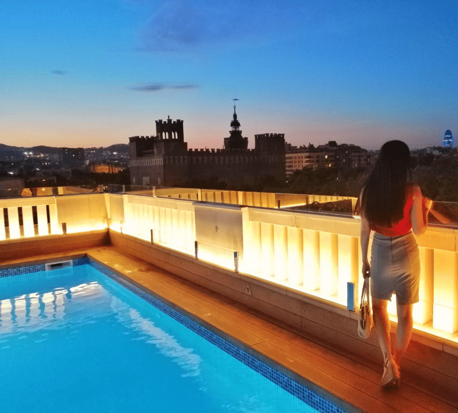 террасы отелей Барселоны
