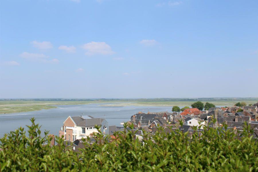Сен Валери сюр Сомм. Городок Северной Франции и тюлени