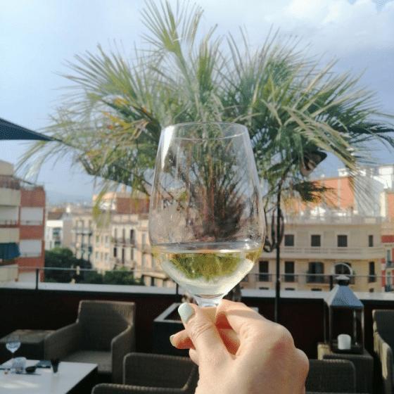террасы отелей Барселона