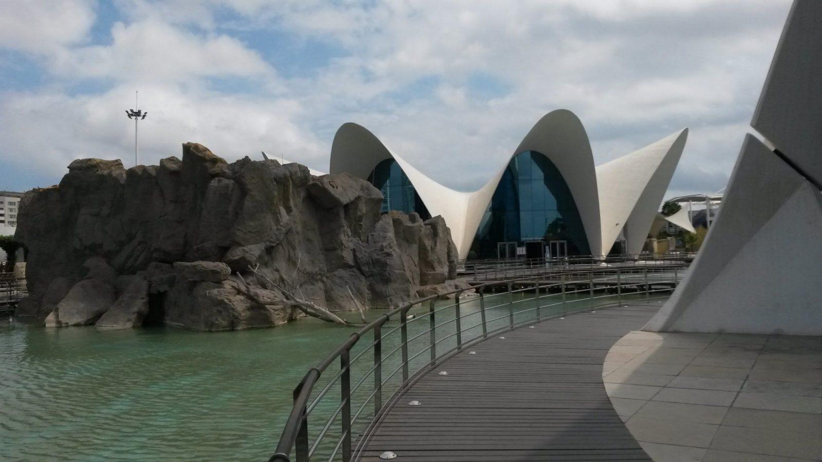 Ciudad de las Artes y las Ciencias: футуристический город науки и искусств