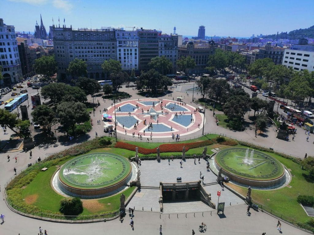 терраса отеля Барселона
