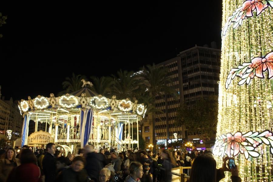 рождество в Валенсии